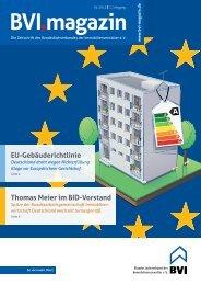 Die komplette Ausgabe als PDF-Download (2,4 MB) - BVI Magazin