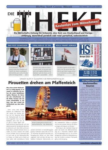 Pirouetten drehen am Pfaffenteich - Theke Schwerin