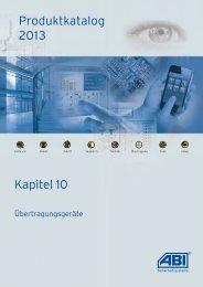 Kapitel 10 - ABI Sicherheitssysteme GmbH