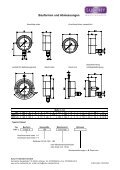 Feinmessmanometer mit Rohrfedermessglied in Industrie - Page 2