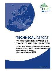 TECHNICAL REPORT - ECDC - Europa