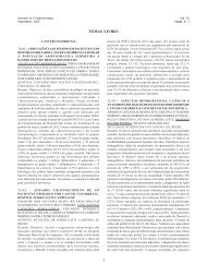 Resumos dos trabalhos - journal of coloproctology