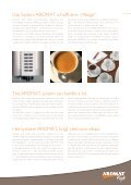Kaffee-Systeme . Coffee systems . Koffiesystemen - AROMAT Cafe - Seite 5