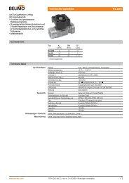Technisches Datenblatt R4..D(K) - Belimo
