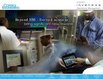 Beyond HMI – Evolved solutions bring significant new rewards