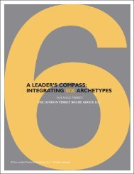 A LEADER'S COMPASS: INTEGRATING SIX ARCHETYPES