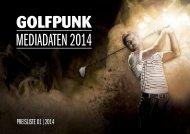 Mediadaten GolfPunk 2014