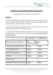 Comet Racking Review [PDF] - Eurohub Corby 277
