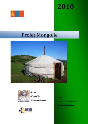 Projet Mongolie - ProjAide