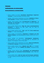 Publikationen - Leschber, Dr. phil. Corinna