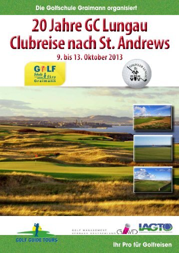 weitere Informationen zum Clubausflug finden Sie hier! - Golfschule ...