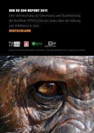 Report zur Zootierhaltung in Deutschland - Animal Public