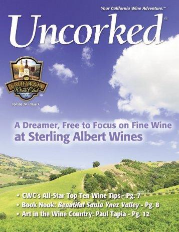 Sterling Albert Wines - California Wine Club
