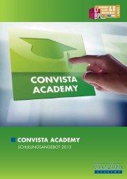 ConVista Academy Broschüre (deutsch)
