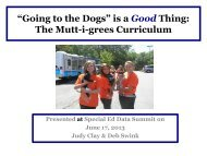 mutts - ADE Special Education