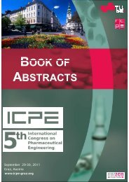 Book of Abstracts - ICPE - 5th International Congress on ...