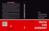 Truth for Germany Cover.indd - German Victims