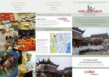 ViVre-Culinarium - CAISSA Touristic