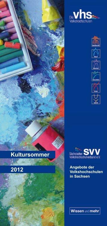 Sommerangebote - Volkshochschule im Landkreis Meißen eV
