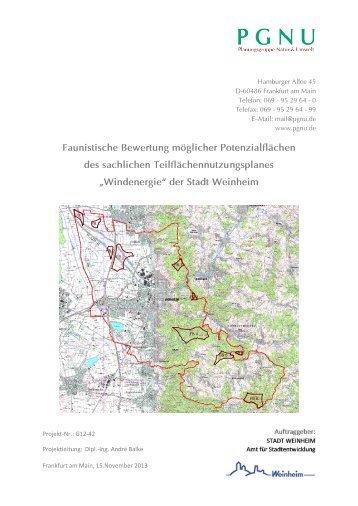 Gutachten - Stadt Weinheim