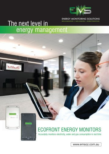 Download Brochure - Energy Monitoring Solutions