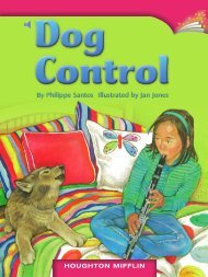 Lesson 14:Dog Control