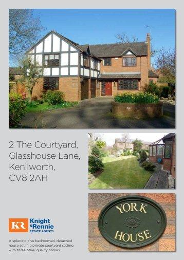 2 The Courtyard, Glasshouse Lane, Kenilworth, CV8 ... - Situ Homes