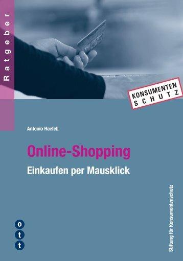 Online-Shopping - Ott Verlag