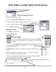 Pivot Tables, Lookup Tables and Scenarios - Page 3