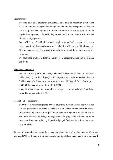 Læs rapporten (pdf-fil, 0,4 MB, åbner nyt vindue) - Aarhus.dk