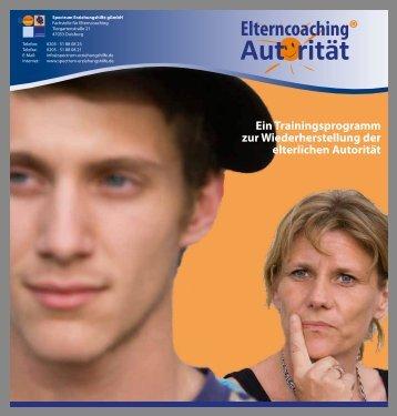 Elterncoaching - Flyer für Eltern, pdf-Download ca. 500 KB