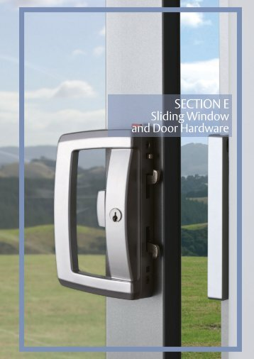 Sliding Window and Door Hardware Catalog - Replace windows ...