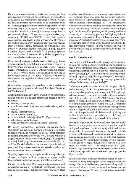 Pobierz numer - Górnośląska Wyższa Szkoła Pedagogiczna