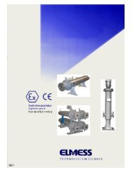 Elektrische Strömungserhitzer Electric flow heater TÜV 99 ATEX ...