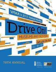 2013 Program - Western Museums Association