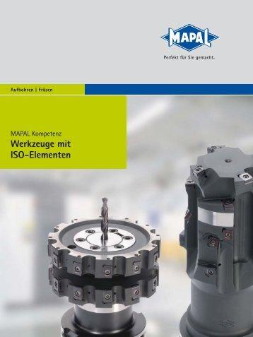 Werkzeuge mit ISO-Elementen - MAPAL Dr. Kress KG