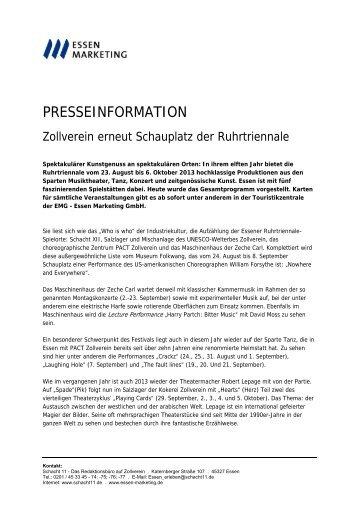 Ruhrtriennale - Schacht 11