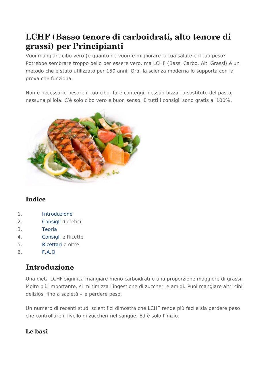 dieta de lchf significa
