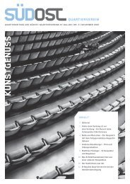 Quartierzeitung Nr. 3 / 2007 - qv-suedost-sg.ch