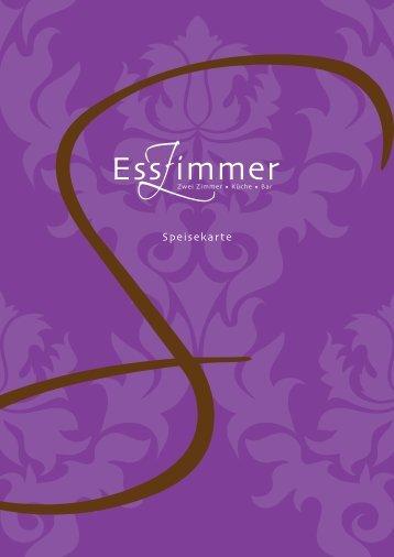 Speisekarte - EssZimmer Weinheim