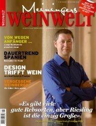 meiningers weinwelt - sommelier magazin 2013 - Altstadtverein ...