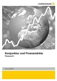 Konjunktur und Finanzmärkte