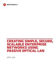 What is a Passive Optical LAN? - TE Connectivity