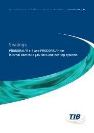 Sealings - TIB Chemicals AG