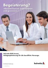 Helvetia BVG Invest