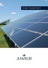 Solar Investment PDF-Broschüre ansehen - JUWELIS World ...