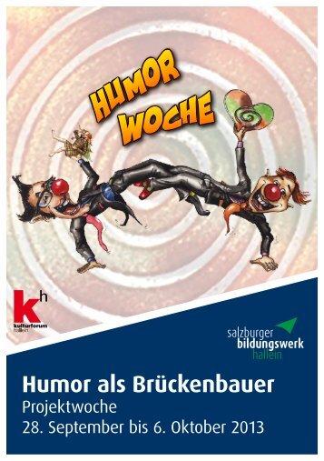 Humor als Brückenbauer - Luana