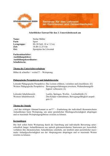 Erfahrungorientierte Erarbeitung einer individuellen ... - FSSport.de