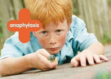 anaphylaxis - The Medical Conditions at School Website