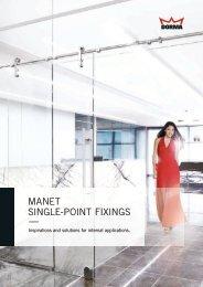 MANET SiNglE-poiNT fixiNgS — - DORMA International